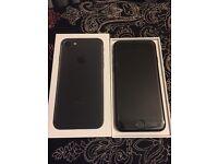 Apple iPhone 7 32GB Matte Black New 2 Weeks Old