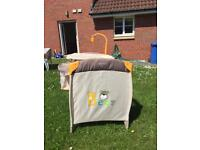 Travel Cot with Electric Swing Free