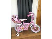 Halfords Apollo Cupcake bike & helmet