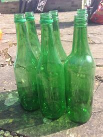 700ml green glass bottles