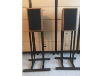 Linn Kan Mk1 Speakers With Mk2 Speaker Stands