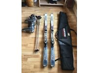 All in one ski package or buy seperately! Rossignol skis, poles, boots and bag