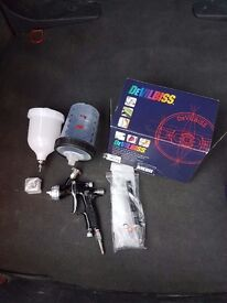 Devilbiss gti pro lite gravity fed spray gun 1.3