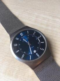 Skagen watch (mesh strap)