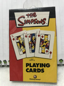 SEALED SIMPSONS PLAYING CARDS 2003
