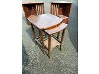 Antique vintage retro furniture nest of tables