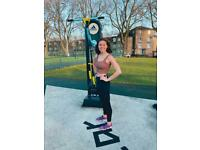 Female only personal trainer in Hackney and Islington
