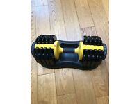2.5kg-25kg adjustable dumbbell