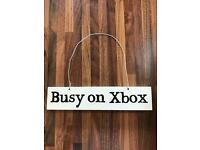 XBox Sign- ideal for games room or kids bedroom!
