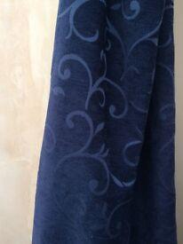 Chenille door curtain