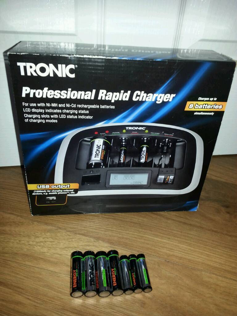 Professional rapid charger