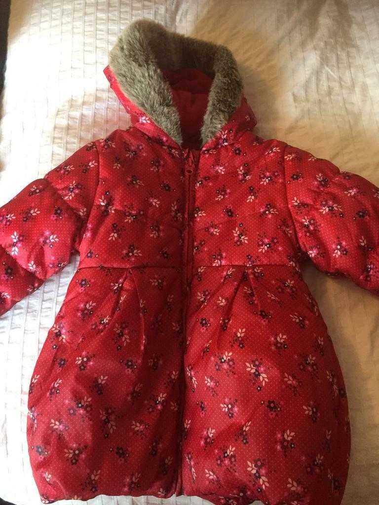 Age 4-5 girls winter coat
