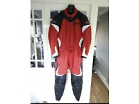 Spidi Toran Two Piece Motorcycle Race Leathers EU 58 UK 48