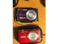 X2 working digital cameras