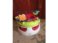 Mamas and Papas Baby Snug With Play Tray - Red