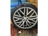 AXE EX30 20 INCH ALLOY WHEELS WITH TYRES