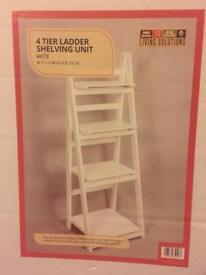 4 Tier Decorative Ladder Unit