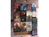 Variety hardback books