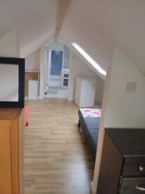 1 bedroom Roof studio flat