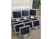 JOB LOT OF 12 ALL IN ONE PC's / COMPUTERS WITH KEYBOARDS – COMPLETE- ONO