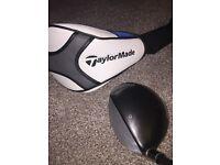 TaylorMade SLDR 430 Driver Golf Club. Stiff Shaft. 10.5 Degrees.