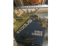 Tow bar exodus cycle carrier