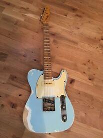 Custom build 1961 Telecaster. Roadworn relic with Fender parts. Lightweight P90 tone monster.