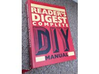 Reader's Digest Complete DIY Manual Book