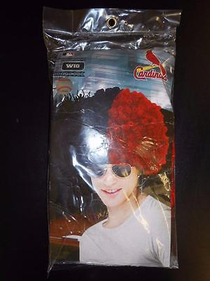 New MLB St. Louis Cardinals Adult One Size Wig Halloween Costume