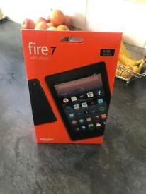 Amazon Fire 7 with Alexa, iPad type of tablet. Brand new UNOPENED