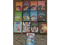 Disney set of books and. CD's and dvds