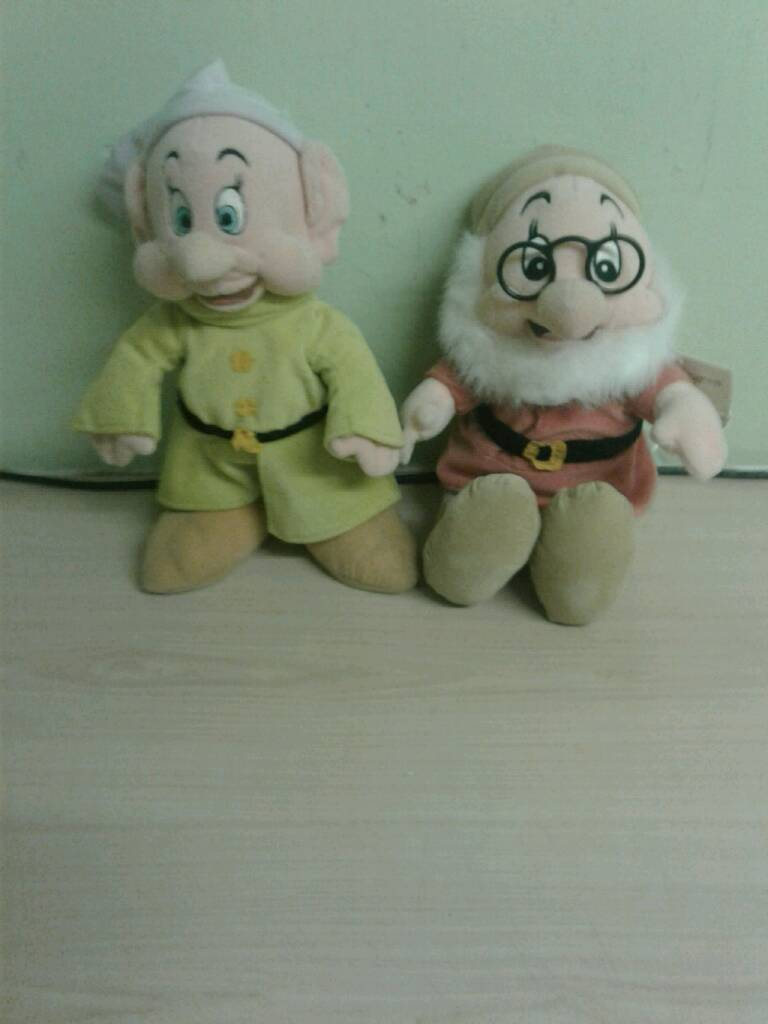 7 Dwarf Disney teddiesin Hull, East YorkshireGumtree - Got 2 of the 7 dwarfs bought from the Disney store pick up only