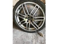 19inch Audi Alloy Wheel and Tyre