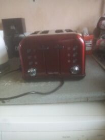 Morphy Richards 4 slice toaster for sale