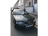 Audi A4 Estate spares or repair, clutch gone. MOT till mid October. £270ono