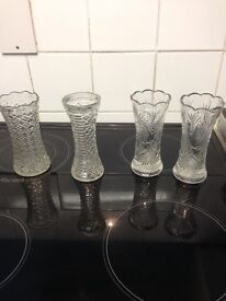 Great condition glassware , vases and paper weights