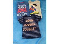Boys Tshirts age 3-4 years