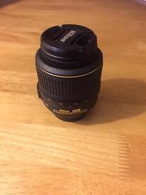 Nikon af-s 18-55mm dx VR lens - As new