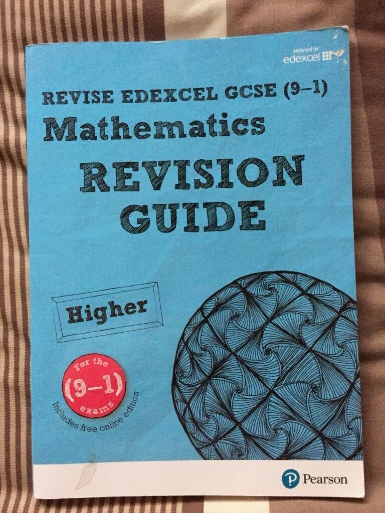 Edexcel GCSE 9-1 Maths Books + Practice Papers + Revision Guide | in ...