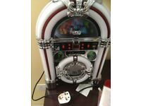 Mini jukebox stereo