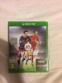 Fifa 16 and FIFA 15 for the Xbox One