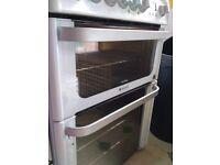 Hotpot Ultima Duel Fuel Oven-needs outer door glass repair but good condition