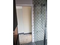 Unopened New MODE Shower wet room glass panel