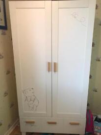 Winnie the Pooh wardrobe £70 ono Cosatto Sketchbook