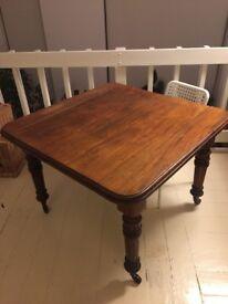 Mahogany Kitchen Table (extendable)