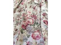 Laura Ashley Curtains and cushions
