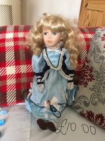 Collectors doll regency fine arts - open to offers