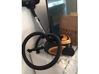BRAND NEW 1200w Compact Powerful Bagged Cylinder Vacuum Cleaner Hoover
