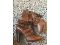 River island brown boots size 6