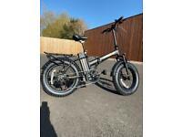 Electric Folding Mountain Bike eBike Fat Tyres 350W 36V Full Suspension Unisex Bike Brand New